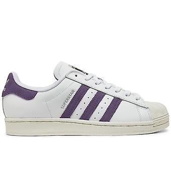 Superstar White/Purple Sneakers