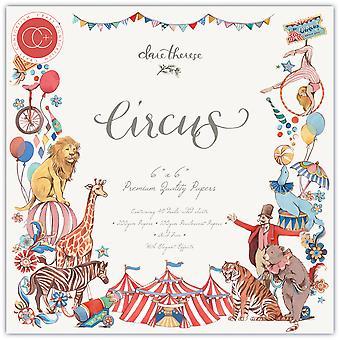 Craft Consortium Circus 6x6 Tuuman Paperityyny