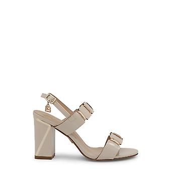 Laura biagiotti 6156 mulheres'sandálias de couro de patente sintética