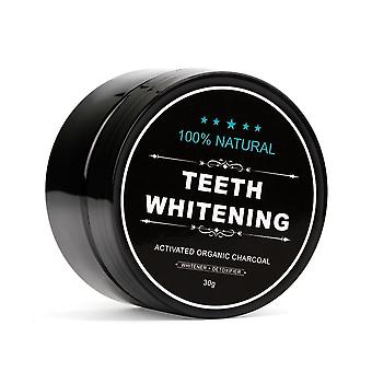 Bamboo Toothbrush Natural Activated Charcoal - Teeth Whitening Powder Toothpaste For Oral Hygiene