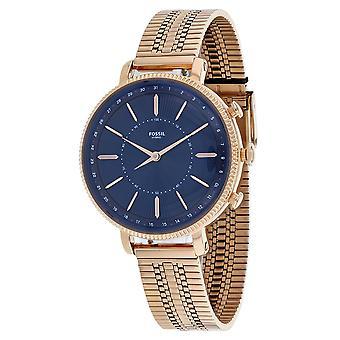 175, Fossil Women 's FTW5061 Quartz Rose gold Watch