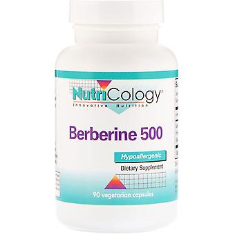 Nutricology, Berberine 500, 90 Vegetarian Capsules