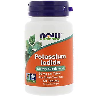 Nu voedingsmiddelen, kalium iodide, 30 mg, 60 tabletten
