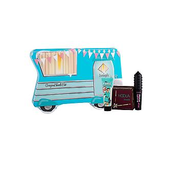 BeneFit Cosmetics Gorgeous Travels First - Face Primer Matte Powder Bronzer, Volumzing Mas