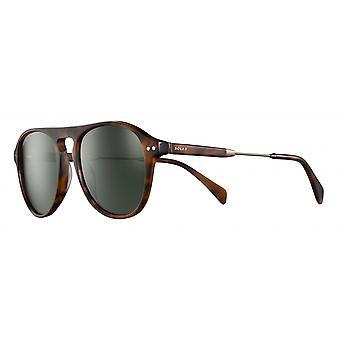 Sunglasses Unisex Cat.3 matte brown/green (JSL18890478)