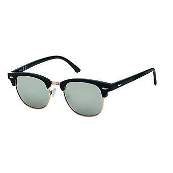 نظارات شمسية Unisex Cat.3 أسود / فضة (19-194A)