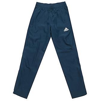 Boy's adidas Kleinkind Tiro 17 gewebte Hose in blau