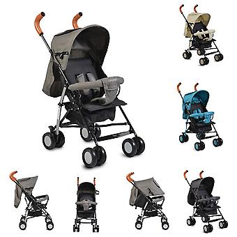 Cangaroo stroller Buggy Diamond, foldable, double wheels steering wheels front, roof