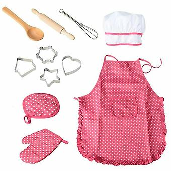 Kids Cooking And Baking Set-chef Role Play