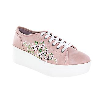 Seven Dials Womens Amy Fabric Low Top Lace Up Fashion Sneakers