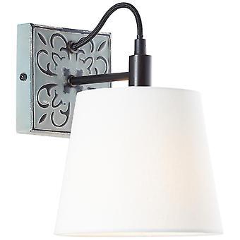 BRILLIANT Tavira Wandleuchte grau Innenleuchten,Wandleuchten   1x A60, E27, 40W, geeignet für Normallampen (nicht enthalten)