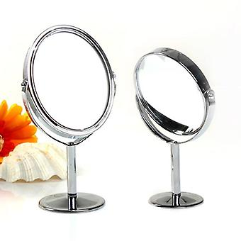 1pc High Quality Double Sided - Beauty Cosmetic Mirrors Stand Magnifying Makeup Mirror Gift For Grils Women