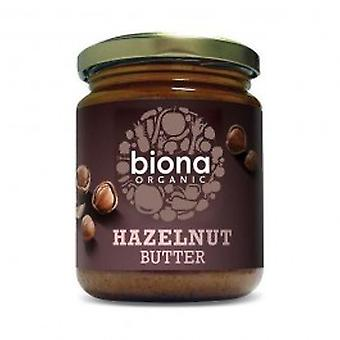 बायोना - ऑर्गेनिक हेज़लनट बटर 170 ग्राम