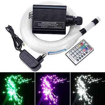 New Rgbw Led Fiber Optic Star Sky Ceiling Kit Light 28 Key Remote