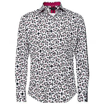 Guide London Slim Fit Floral Shirt