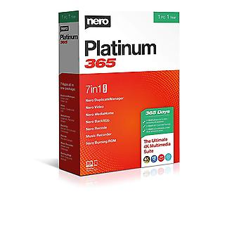 Nero Platinum 365 PC Software