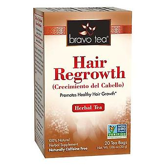 Bravo Tea & Herbs Hair Regrowth Tea, 20 Bags