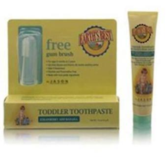 A melhor pasta de dente infantil da Terra Morango & Banana, 1,6 Oz