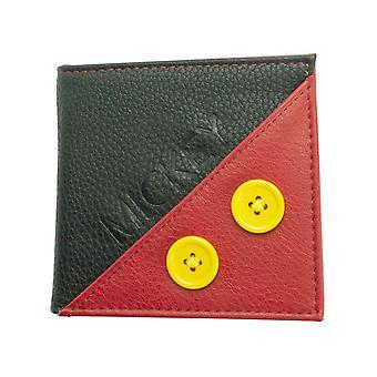 ميكي ماوس محفظة ميكي الشعار الجديد Bifold الرسمية