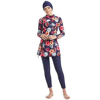 Muslim Swimwear Burkinis Women Long Sleeve Hijab Modest Style Muslimah