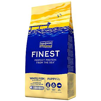 Fish4Dogs Finest Puppies Complete (Regular Bite) (Dogs , Dog Food , Dry Food)
