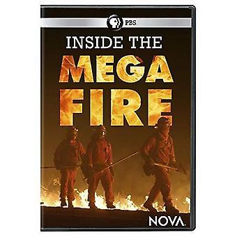 Nova: Inuti Megafire [DVD] USA import