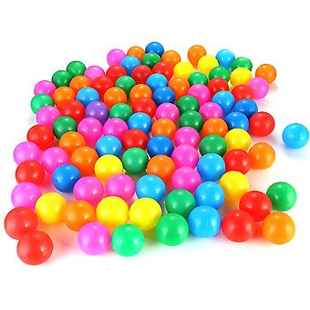 100pcs 4cm Colors Baby Plastic Balls- Water Pool Ocean Wave Ball, Kids Swim Pit