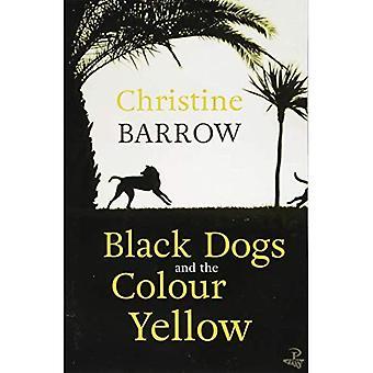 Zwarte honden en de kleur geel