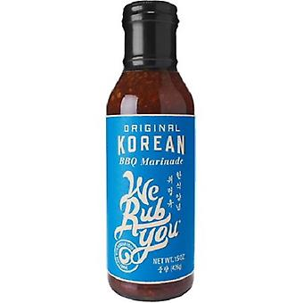 We Rub You Original Korean BBQ Marinade