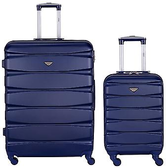 Safir hard cabin suitcases & hold luggage black