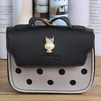 Mini Cute Small Ladies Leather Purse For Coins / Cards Holder