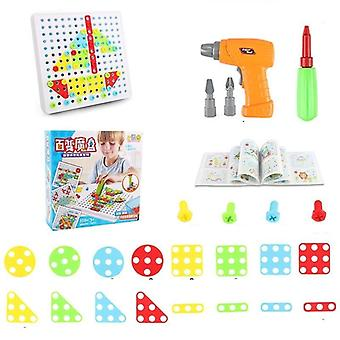Electric Drill And Nut Tool Set Puzzle
