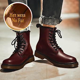 Replika Man Topánky Oko Zimné Topánky Designer Kožený členok Módne Cowboy