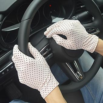 Summer Sexy Gloves With Sun Protection Anti-uv Short Driving Glove