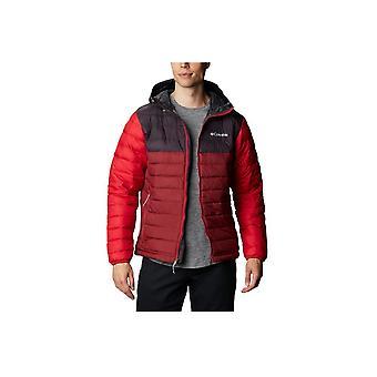 Columbia Powder Lite Hooded Jacket 1693931666 universal året män jackor
