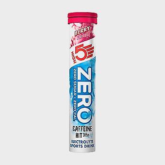 New High 5 Zero Berry Caffeine Energy Drinks Natural