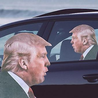 Ride with trump - car window decal
