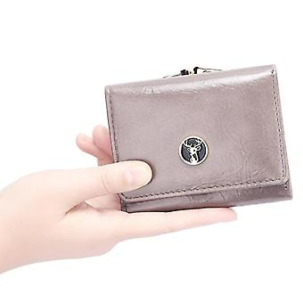 Tassel Short Wallet, Zipper Mini Coin Purse Ladies Small Wallet And Female
