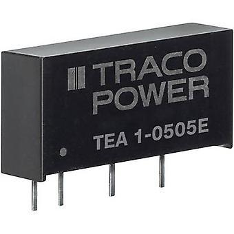 TracoPower TEA 1-0505E DC/DC converter (print) 200 mA 1 W No. of outputs: 1 x