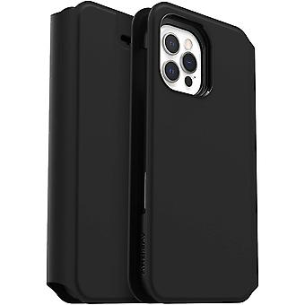OtterBox Strada Via Series Case for Apple iPhone 12/12 Pro, Sleek, Soft Touch Protective Folio