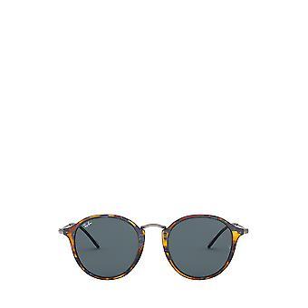 راي بان RB2447 رصدت النظارات الشمسية الزرقاء هافانا للجنسين