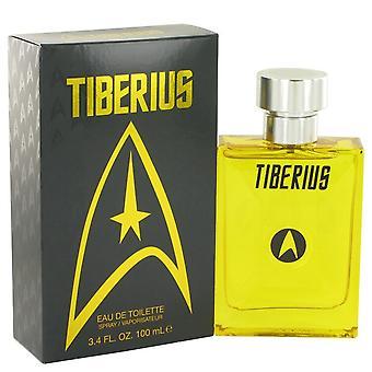 Star Trek Tiberius by Star Trek Eau De Toilette Spray 3.4 oz / 100 ml (Men)