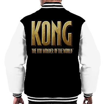 King Kong La 8a Maravilla del Mundo Logo Hombres's Chaqueta Varsity
