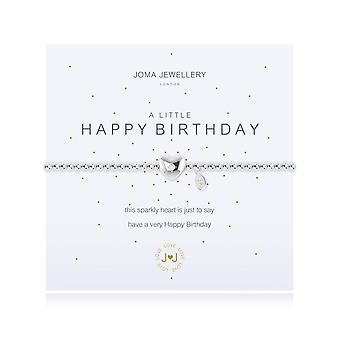 Joma Jewellery A Little Happy Birthday Bracelet 1093