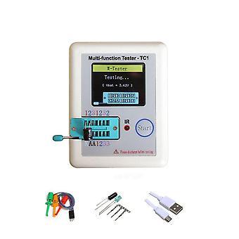 Tester tranzystora, Lcr-tc1- Wyświetlacz graficzny z diodą Tft baterii, pojemność