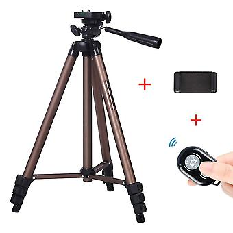 Professional Aluminum Mini Camera Tripod Stand With  Bluetooth Control