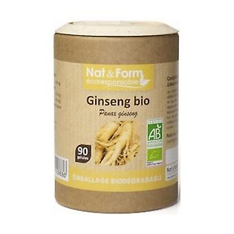 Organic Red Ginseng 90 capsules