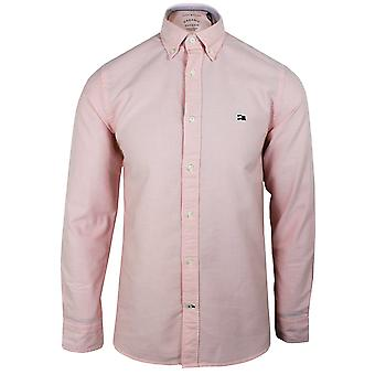 Tommy hilfiger men's classic pink oxford shirt