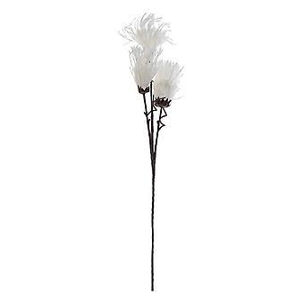 Dekorative Blume Dekodonia Weiß (28 x 105 cm)