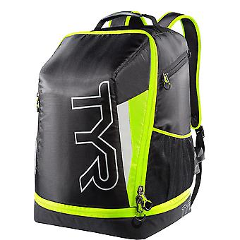 TYR Apex Transition Triathlon Backpack-Black/Yellow